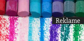 Et udvalg af farvekridt
