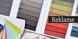 Farveprøver i friske farver
